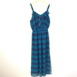 Faded Glory Striped Maxi Dress